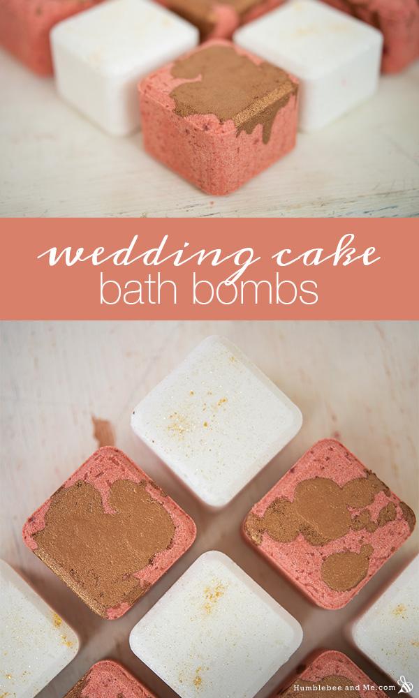 How to Make Wedding Cake Bath Bombs