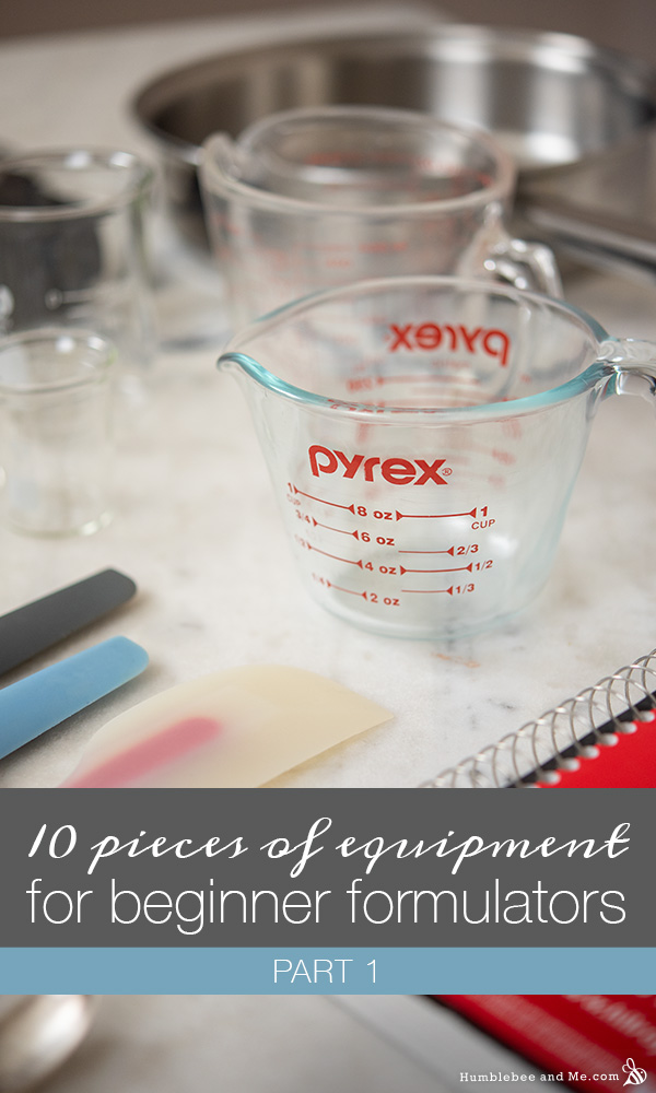 Ten pieces of equipment for new formulators: Part 1