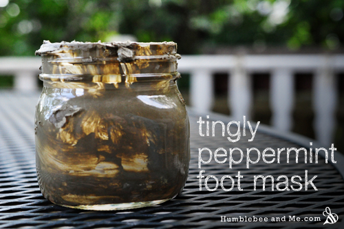 Tingly Peppermint Foot Mask