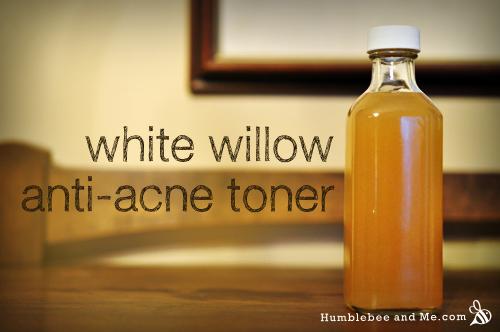 White Willow Bark Anti-Acne Toner - Humblebee & Me