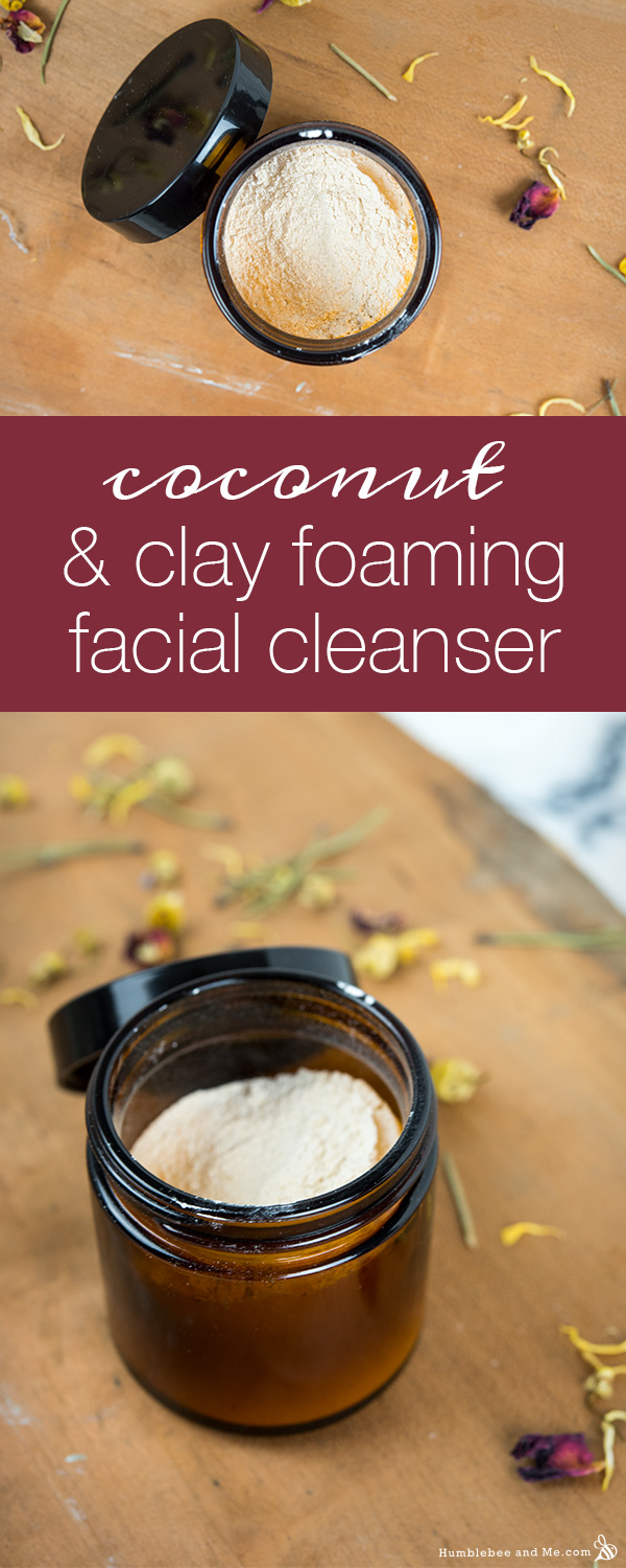 How to Make Coconut Clay Facial Cleanser