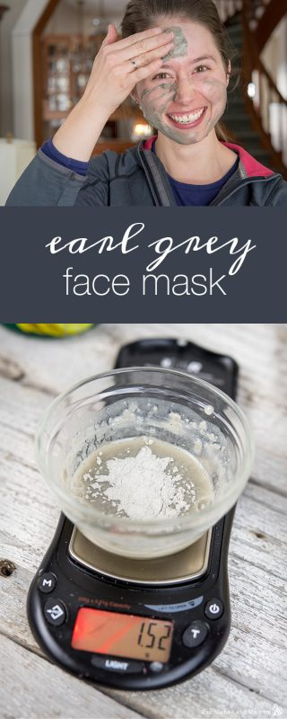 Earl Grey Face Mask