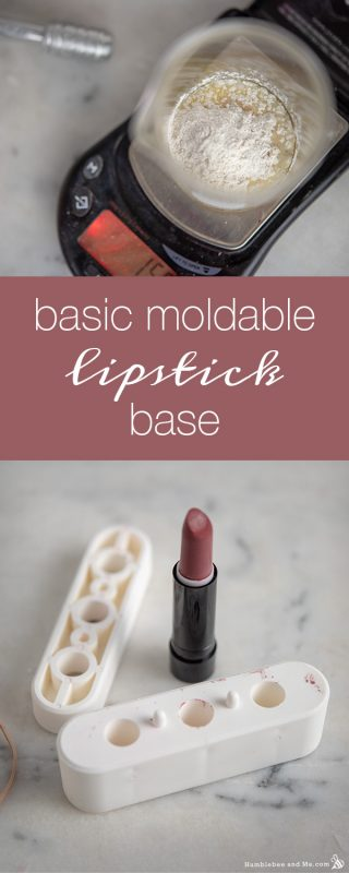 Basic Moldable Lipstick Base