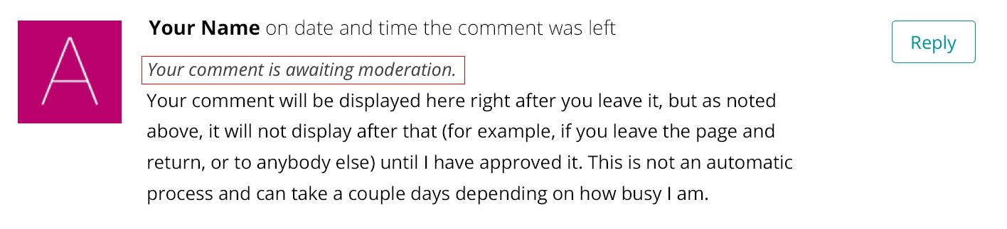 comment-moderation