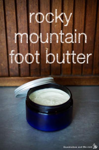 Rocky Mountain Foot Butter