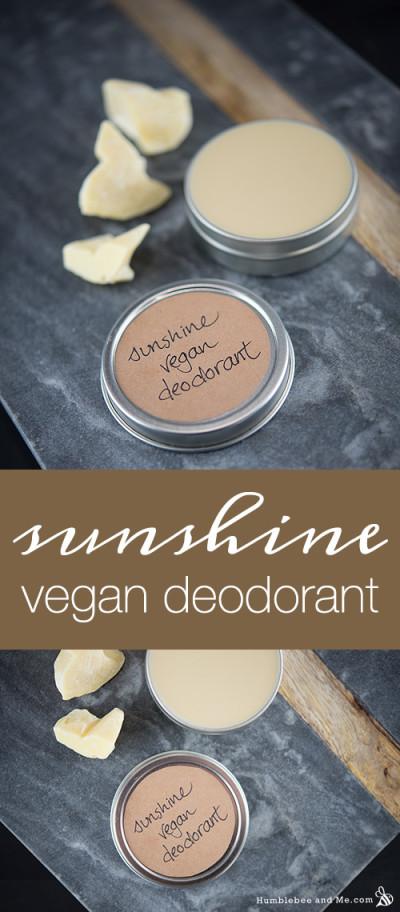 Sunshine Vegan Deodorant