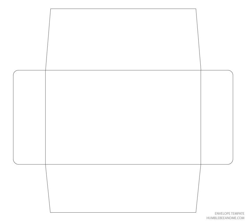 Сделать конверт из а4 шаблон